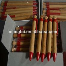 solid bamboo ball pen