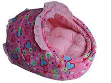 luxury slipper pet bed filled with high density sponge inside
