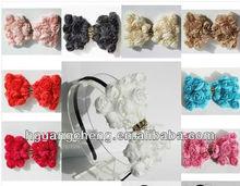 7*10cm teenage/kids bowknot headband hair ribbon bows-