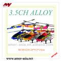 2013 venta caliente 3.5 canal rc helicóptero girocompás wiht, helicóptero del rc, aeroplano del rc