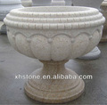 Outdoor-möbel garten granit großen stein handgefertigt ornament garten blumentöpfe( 24 jahre ab werk)