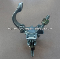 EN74 drop forged 90 degree coupler with flange nut
