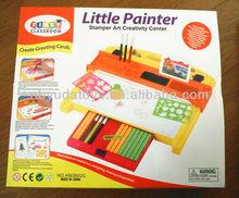 Ningbo Sunrise/ICTI factory/2014 hottest toy/Stamper Art Creativity set
