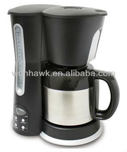 1.5L best seller drip electric coffee machine with digital timer