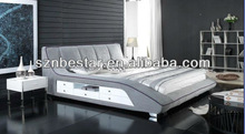 2013 latest euro style soft bed ,bedroom furniture