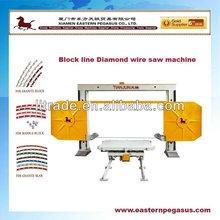 Stone CNC wire saw cutting machine,block machine