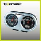 HP2135 illuminated car clock temperature and humidity meter