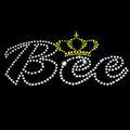 hermoso de la abeja de la corona decoración de la ropa de diseño