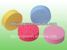 Colorful Design Oval Shape Seaweed Bath Sponge