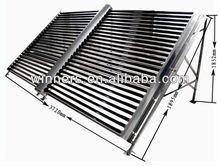 Non pressure solar water heater collector