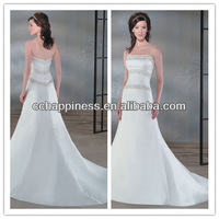 bridesmaids muslim bridal gowns for wedding dresses 2013 beaded strapless