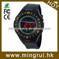 bueno y barato lcd analógico y deportes impermeable reloj de la moda para el mercado
