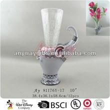 Polyresin elephant vases wholesale
