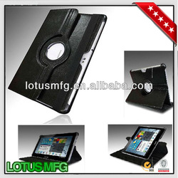 360 degree rotation protective hard case for galaxy tab 2 10.1