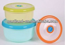 3PCS Microwave plastic food container,food storage box