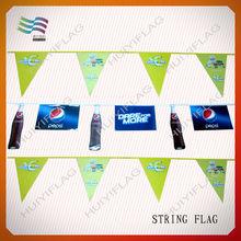 supermarket sale promotion on string flag