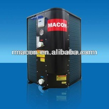 Swimming pool product, heat pump with Titanium heat exchanger
