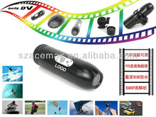 1080P Full HD mini sports head camera 20M Waterproof, Bullet Style, for MTB Motorcycle Skiing Surfing RC Toys