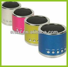 2012 new usb vibration speaker portable speaker mini speaker