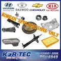 Piezas de coche sueltas para Hyundai, Kia, Daewoo y Chevrolet