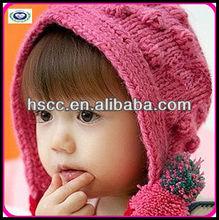 pretty knitted children hat