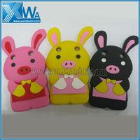 rabbit silicone case for blackberry