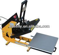 Manual Magnetic T-Shirt Heating Transfer Printer, Thermo Transfer printing, Heat press printer,Sublimation Tshirt fladbedprinter