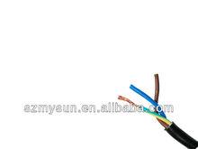 silicone rubber triplex electrical wire
