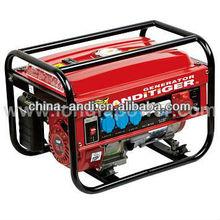 3-phase 2KW to 6KW petrol/gasoline portable generator price 380V