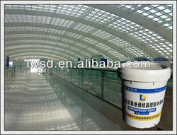 Cementitious crystalline waterproof coating