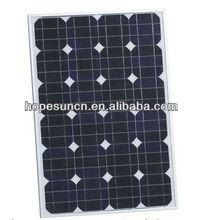Mono solar panel 75W solar panel price list for sale