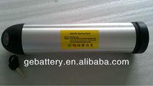 36V 12Ah Li-ion bottle/tube style E-bike battery