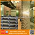 Divisor de salón, de acero inoxidable de malla de metal decorativos, divisor de habitaciones pared de cortina