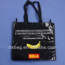 fashional reusable plastic pp woven shopping bag