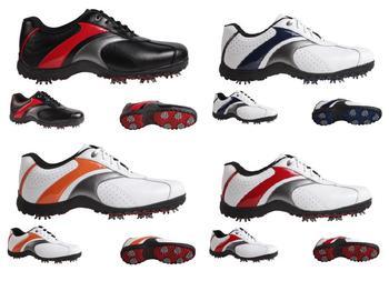 Professional fancy men's leather golf shoe SW0810