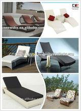 2013 Round rattan sun lounger