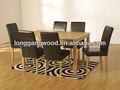 Mesa de comedor y sillas, Conjuntos de comedor, Muebles de comedor de madera