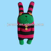 DIY cute bear rabbit stuffed handmade sock soft toys