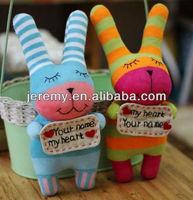 cute stuffed handmade anmimal sock dolls sock toy