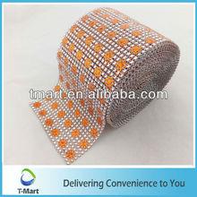 plastic rhinestone mesh for furniture