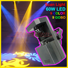 Professional stage/disco 60W LED scanner light