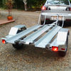 Hot Dipped Galvanized Motorcycle Trailer