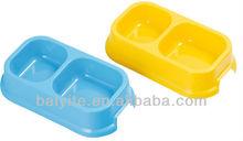 plastic pet food bowls dog water bowl