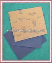 Atlas silicon carbide abrasive paper sheet