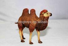 mini camel plastic toy animal;plastic toy animal