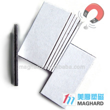 adhesive coated paper sheet Paired rubber magnet