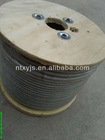 PVC,plastic coated steel wire rope for elevators
