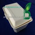 10 pouces. 100% ayurvedhic boîtes pâte de canne à sucre