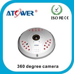 Professional fisheye 720p 960p 1080p 360 degree wireless camera