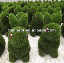 Christmas Promotion Grass Fiber Rabbit Decoration